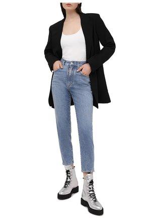 Женские джинсы DSQUARED2 голубого цвета, арт. S75LB0470/S30595 | Фото 2