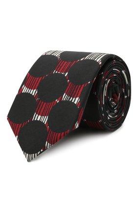 Мужской хлопковый галстук DOLCE & GABBANA разноцветного цвета, арт. GT149E/G1WAK | Фото 1
