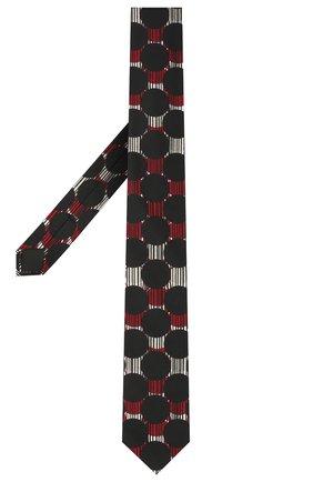 Мужской хлопковый галстук DOLCE & GABBANA разноцветного цвета, арт. GT149E/G1WAK | Фото 2