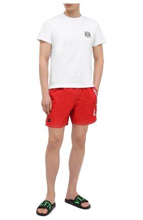 Мужские плавки-шорты PAUL&SHARK красного цвета, арт. C0P5002/FH4 | Фото 2