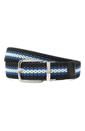 Мужской ремень PAUL&SHARK темно-синего цвета, арт. 21416031/GSJ | Фото 1