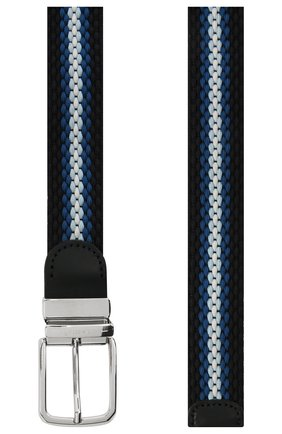 Мужской ремень PAUL&SHARK темно-синего цвета, арт. 21416031/GSJ | Фото 2