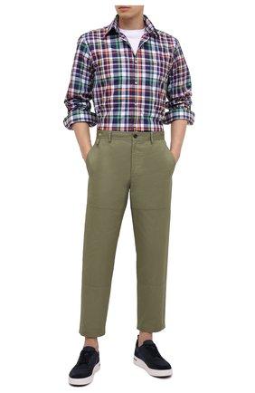Мужская комплект из рубашки и маски PAUL&SHARK разноцветного цвета, арт. 21413308/C00 | Фото 2