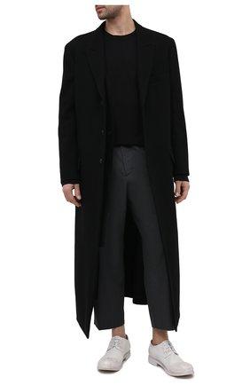 Мужские кожаные дерби MARSELL белого цвета, арт. MM2443/PELLE CERATA | Фото 2