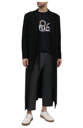 Мужские кожаные дерби MARSELL белого цвета, арт. MM3110/PELLE V0L0NATA | Фото 2