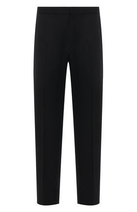 Мужские шерстяные брюки BRIONI черного цвета, арт. RQSB0L/09A25/THETA | Фото 1