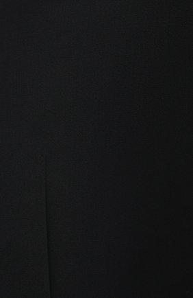 Мужские шерстяные брюки BRIONI черного цвета, арт. RQSB0L/09A25/THETA | Фото 5 (Материал внешний: Шерсть; Случай: Вечерний; Длина (брюки, джинсы): Стандартные; Стили: Классический; Материал подклада: Купро)