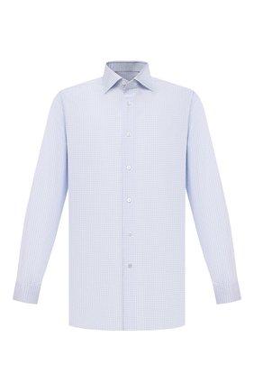 Мужская хлопковая сорочка BRIONI светло-голубого цвета, арт. RCBE0L/P008P | Фото 1