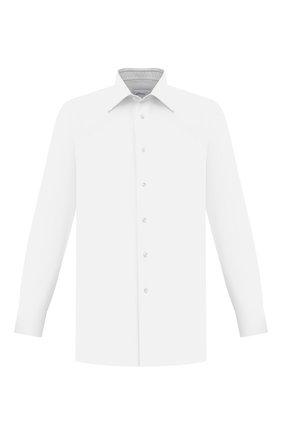Мужская хлопковая сорочка BRIONI белого цвета, арт. RCBD0L/P004Q | Фото 1
