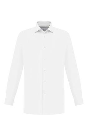 Мужская хлопковая сорочка BRIONI белого цвета, арт. RCA100/P004Q | Фото 1