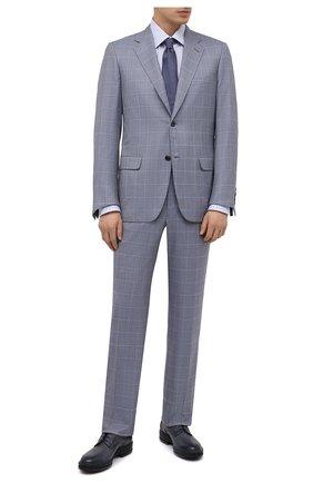 Мужской шерстяной костюм BRIONI светло-серого цвета, арт. RAH00L/P0A1W/PARLAMENT0 | Фото 1