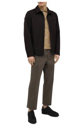 Мужская утепленная куртка Z ZEGNA черного цвета, арт. VW037/ZZ002 | Фото 2