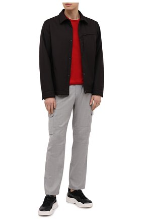 Мужская хлопковая футболка Z ZEGNA красного цвета, арт. VW372/ZZ630E | Фото 2