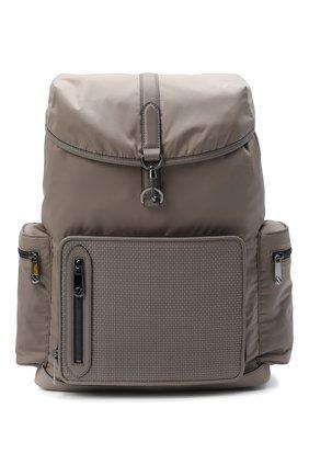 Мужской комбинированный рюкзак ERMENEGILDO ZEGNA бежевого цвета, арт. C1282P-LHDTL | Фото 1