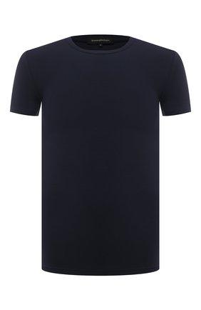 Мужская футболка ERMENEGILDO ZEGNA синего цвета, арт. N3M201210 | Фото 1