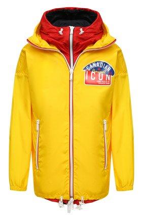 Мужская куртка DSQUARED2 желтого цвета, арт. S79AM0019/S53817 | Фото 1