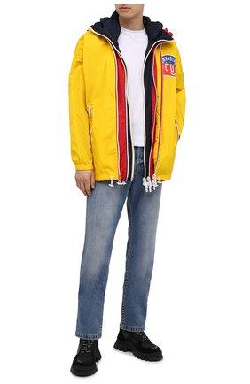 Мужская куртка DSQUARED2 желтого цвета, арт. S79AM0019/S53817 | Фото 2
