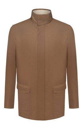 Мужская куртка LORO PIANA коричневого цвета, арт. FAI1016 | Фото 1