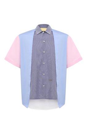 Мужская хлопковая рубашка DSQUARED2 разноцветного цвета, арт. S74DM0486/S53618   Фото 1