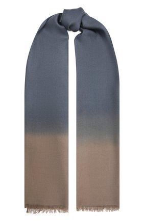 Мужской шарф из шерсти и шелка ERMENEGILDO ZEGNA разноцветного цвета, арт. Z9L45/29C | Фото 1