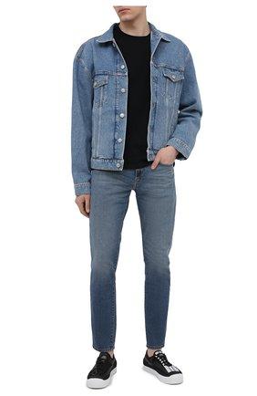 Мужские джинсы DIESEL синего цвета, арт. 00SPW5/009EI | Фото 2