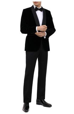 Мужские кожаные оксфорды ZEGNA COUTURE черного цвета, арт. A2841X-LHLEP | Фото 2