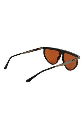 Мужские солнцезащитные очки GIORGIO ARMANI коричневого цвета, арт. AR6117 | Фото 4