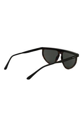 Мужские солнцезащитные очки GIORGIO ARMANI темно-коричневого цвета, арт. AR6117   Фото 4