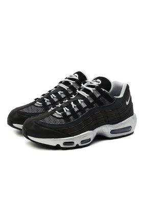 Мужские кроссовки air max 95 prm reflective NIKELAB черного цвета, арт. DH8075-001 | Фото 1
