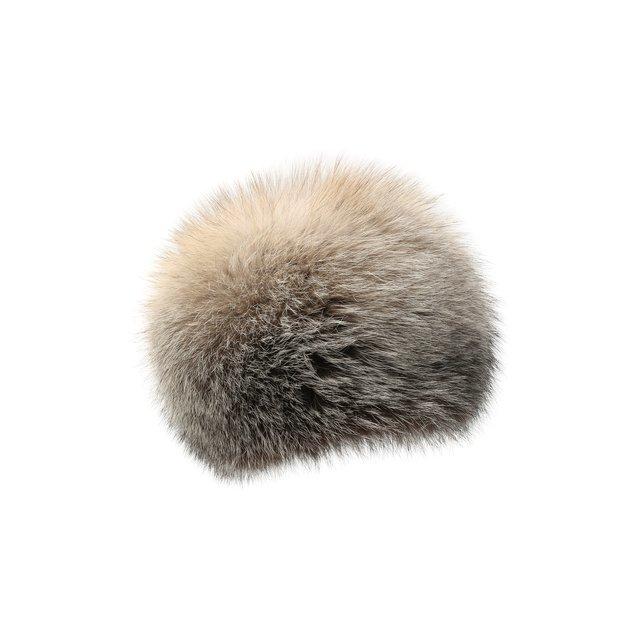 Шапка из меха лисы FurLand