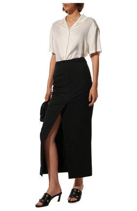 Женские кожаные мюли upstud VALENTINO черного цвета, арт. VW2S0BK3/ZCG | Фото 2