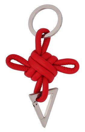 Женский брелок BOTTEGA VENETA красного цвета, арт. 619100/V0050 | Фото 1