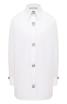 Женская хлопковая рубашка CHRISTOPHER KANE белого цвета, арт. RE21 SH283 TAIL0RED C0TT0N | Фото 1