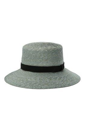 Женская соломенная шляпа GIORGIO ARMANI синего цвета, арт. 797013/1P502 | Фото 2