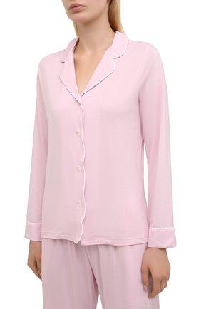 Женская пижама DEREK ROSE розового цвета, арт. 2033-LARA001   Фото 2