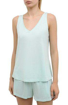 Женская пижама DEREK ROSE светло-зеленого цвета, арт. 2028-LARA001 | Фото 2