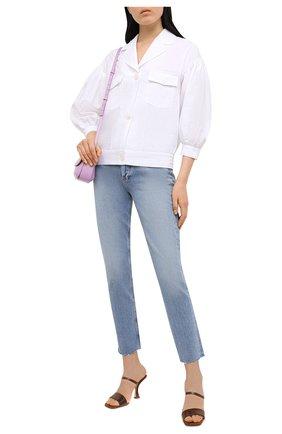 Женский льняной жакет KITON белого цвета, арт. D51433K01057 | Фото 2