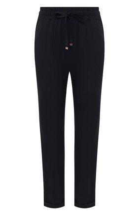 Женские брюки KITON темно-синего цвета, арт. D51109K09T67 | Фото 1