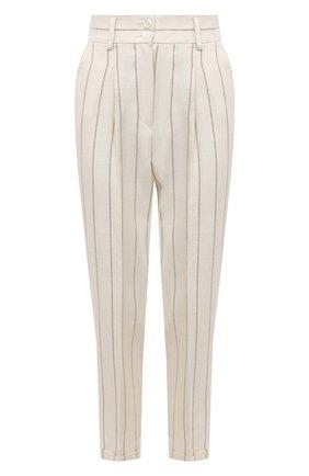 Женские брюки KITON светло-бежевого цвета, арт. D50106K09T16 | Фото 1