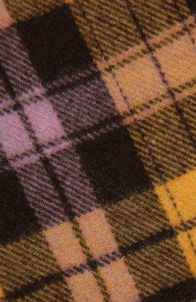 Женский шерстяной шарф ACNE STUDIOS желтого цвета, арт. CA0115/W   Фото 2
