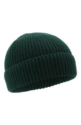 Женская шерстяная шапка ACNE STUDIOS темно-зеленого цвета, арт. C40130/W | Фото 1