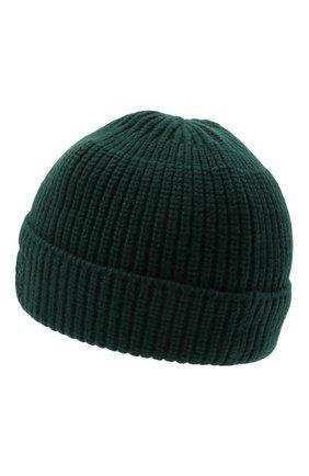 Женская шерстяная шапка ACNE STUDIOS темно-зеленого цвета, арт. C40130/W | Фото 2