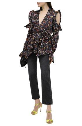 Женские кожаные босоножки jeannie 100 CASADEI бежевого цвета, арт. 1L752S1001T0253A854 | Фото 2