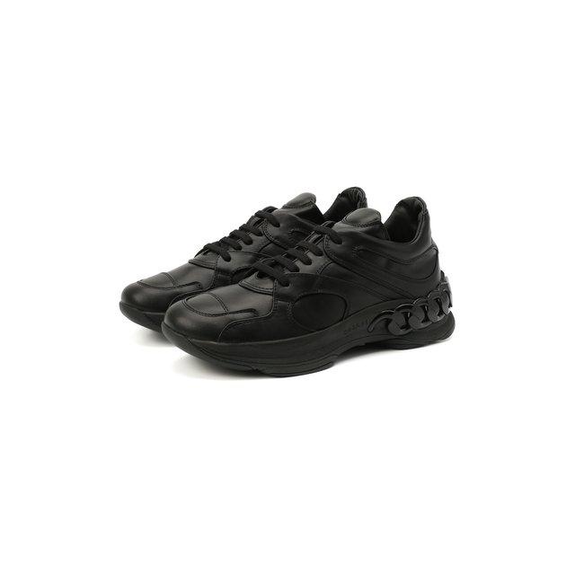 Кожаные кроссовки Dynamic Casadei
