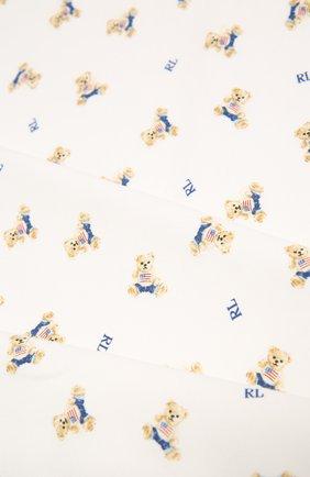 Детского хлопковое одеяло POLO RALPH LAUREN разноцветного цвета, арт. 320682724 | Фото 2