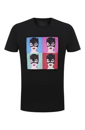 Мужская хлопковая футболка LIMITATO черного цвета, арт. BUNNIES/T-SHIRT | Фото 1