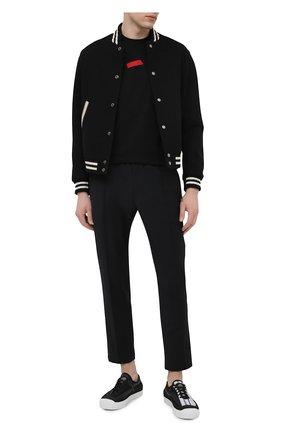 Мужская хлопковая футболка DSQUARED2 черного цвета, арт. S74GD0804/S22427 | Фото 2
