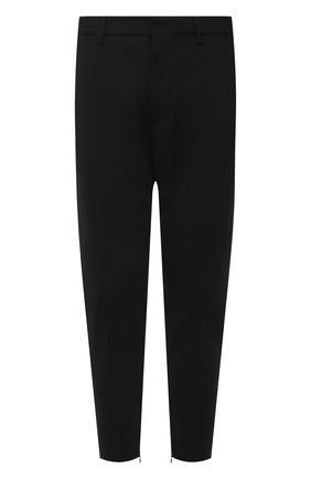 Мужские шерстяные брюки DSQUARED2 черного цвета, арт. S74KB0549/S40320 | Фото 1