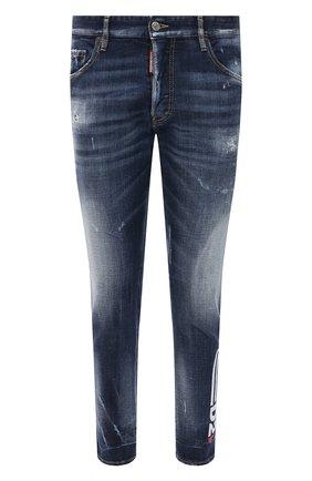 Мужские джинсы DSQUARED2 синего цвета, арт. S74LB0869/S30664 | Фото 1