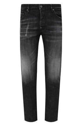 Мужские джинсы DSQUARED2 черного цвета, арт. S74LB0880/S30357 | Фото 1
